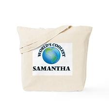 World's Coolest Samantha Tote Bag