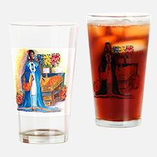 Market Day Drinking Glass