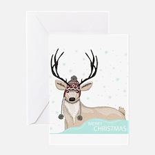 Christmas Deer Greeting Cards