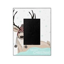Christmas Deer Picture Frame