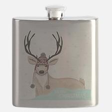 Christmas Deer Flask