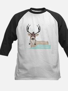 Christmas Deer Baseball Jersey