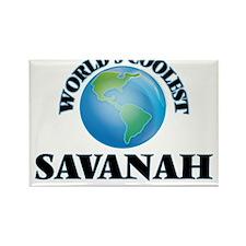 World's Coolest Savanah Magnets