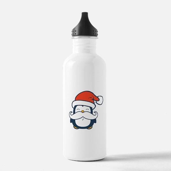 Christmas Penguin Must Water Bottle