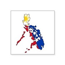 Philippine Flag and Map Decal Sticker