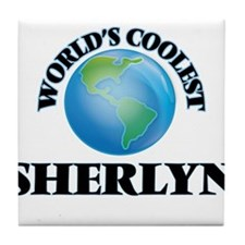 World's Coolest Sherlyn Tile Coaster