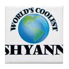 World's Coolest Shyann Tile Coaster