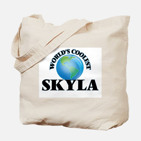 World's Coolest Skyla Tote Bag
