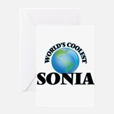 World's Coolest Sonia Greeting Cards