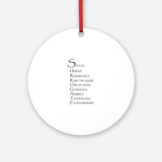 Surrogacy Ornament (Round)