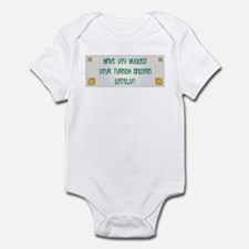 Hugged Angora Infant Bodysuit