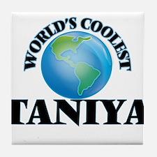 World's Coolest Taniya Tile Coaster