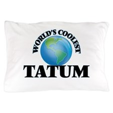 World's Coolest Tatum Pillow Case