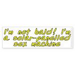 I'm not bald! - Sticker (Bumper 10 pk)