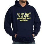 I'm not bald! - Hoodie (dark)