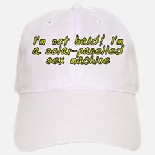 I'm not bald! - Baseball Baseball Cap