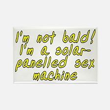 I'm not bald! - Rectangle Magnet