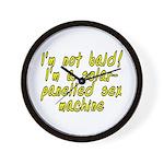 I'm not bald! - Wall Clock