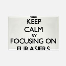 Keep calm by focusing on Eurasiers Magnets