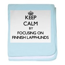 Keep calm by focusing on Finnish Lapp baby blanket