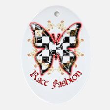Race Fashion.com Oval Ornament