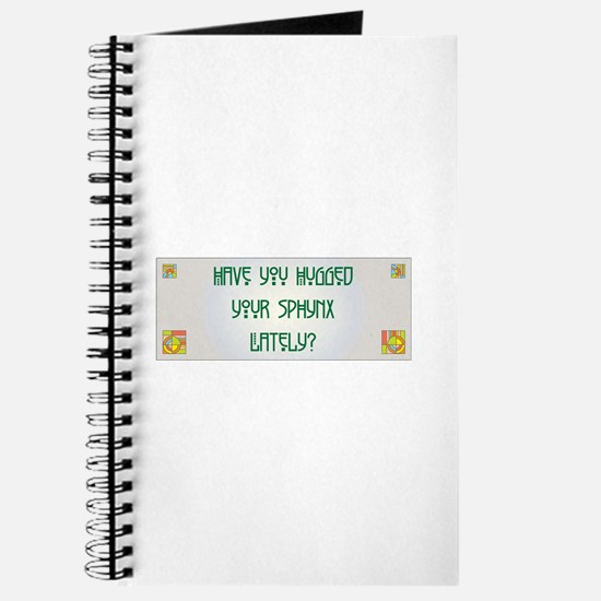 Hugged Sphynx Journal