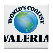 World's Coolest Valeria Tile Coaster