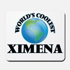 World's Coolest Ximena Mousepad