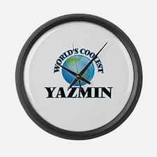 World's Coolest Yazmin Large Wall Clock