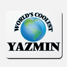 World's Coolest Yazmin Mousepad