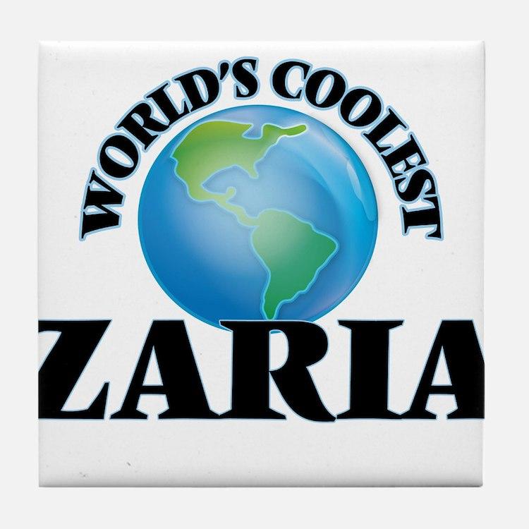 World's Coolest Zaria Tile Coaster