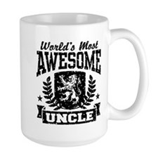 World's Most Awesome Uncle Mug
