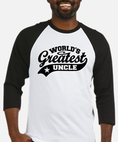 World's Greatest Uncle Baseball Jersey