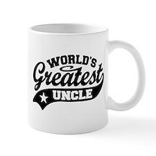 World's Greatest Uncle Small Mug