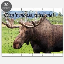 Don't moose with me! Alaskan moose Puzzle