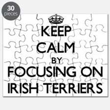 Keep calm by focusing on Irish Terriers Puzzle