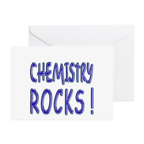Chemistry Rocks ! Greeting Cards (Pk of 10)