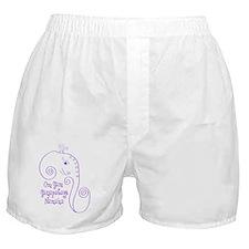 Ganesha Purple Boxer Shorts