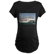 Bon Voyage: cruise ship Maternity T-Shirt