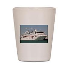 Bon Voyage: cruise ship Shot Glass