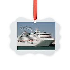 Bon Voyage: cruise ship Ornament