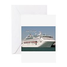 Bon Voyage: cruise ship Greeting Cards