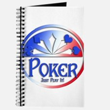 Red White & Blue POKER JUST PLAY IT! Journal