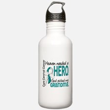 Cervical Cancer Heaven Water Bottle