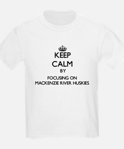 Keep calm by focusing on Mackenzie River H T-Shirt