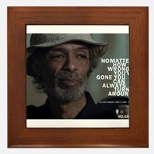 Gil Scott-Heron Framed Tile