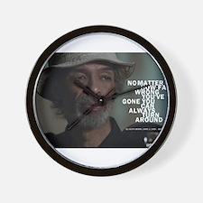 Gil Scott-Heron Wall Clock