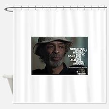 Gil Scott-Heron Shower Curtain