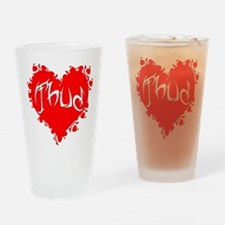 Thud Drinking Glass