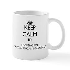 Keep calm by focusing on Native American Indi Mugs